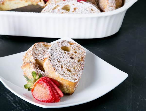 Make Ahead Baked Carmel French Toast Recipe