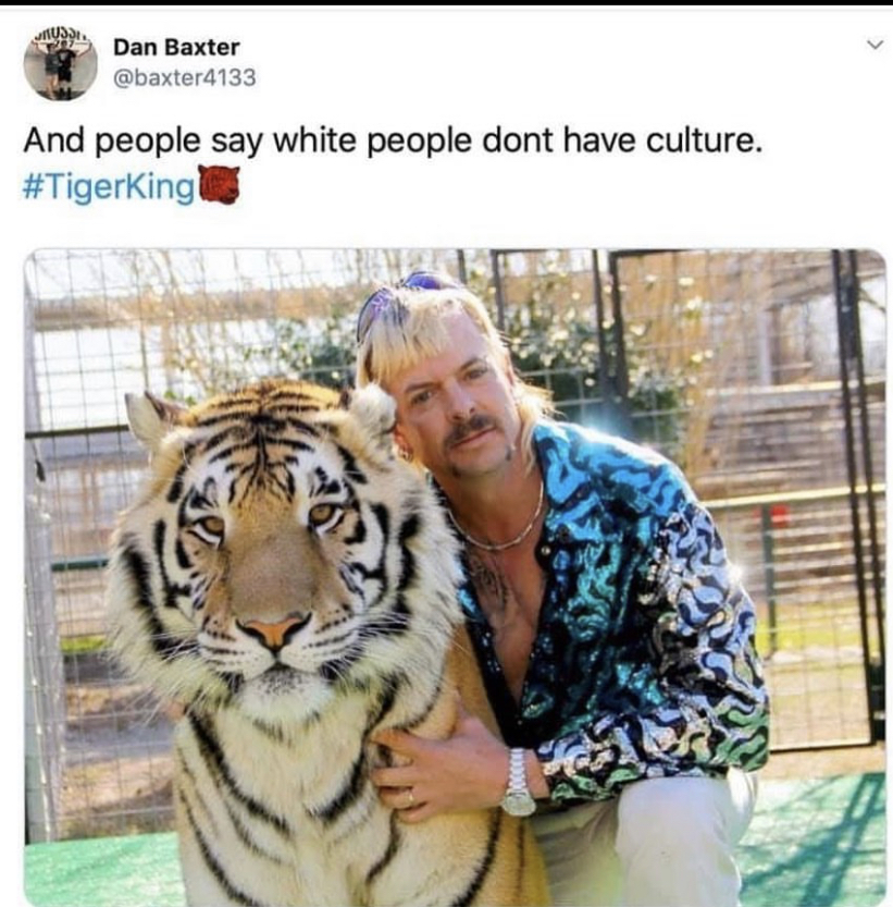 white people do have culture meme