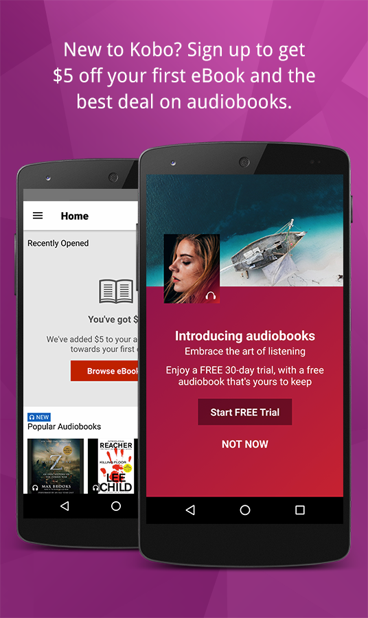 Kobo books ebooks audiobooks android apps on google play kobo books ebooks audiobooks screenshot fandeluxe Document
