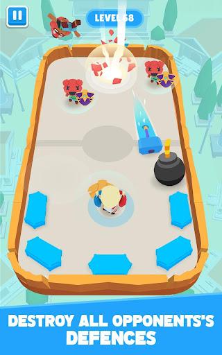 Télécharger Crash Battle - Idle Heroes & Disc Wars Hockey mod apk screenshots 3