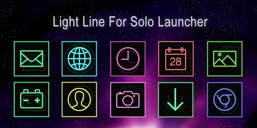 Light Line-Solo Theme