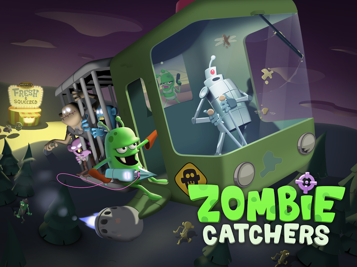 Zombie Catchers: captura de tela