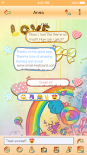 Emoji Keyboard - Cute Lollipop - náhled
