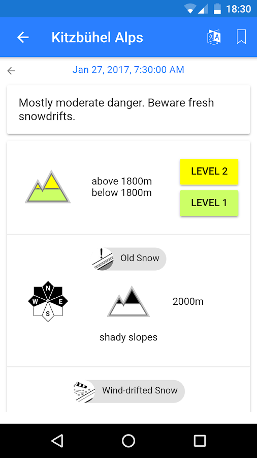 SnowSafe- screenshot