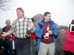 Photo: Šampanjac povodom 50-godišnjice PD Kamenjak na vrhu Kamenjaka