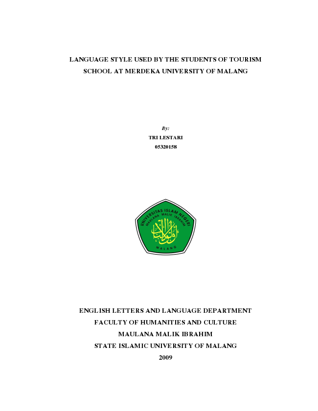 Designing An English Course Book For Grade X Students Of Tourism Industry At Smk Negeri 6 Yogyakarta By Noorlindaary Issuu
