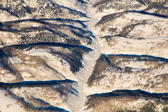 Photo: Utah creek - aerial photo