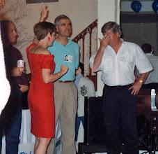 Photo: Bob Nida, Carolyn (McGill) Hoelscher, John Curtis, Ron Gunn