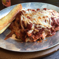 Lasagna with breadstick 5/2017