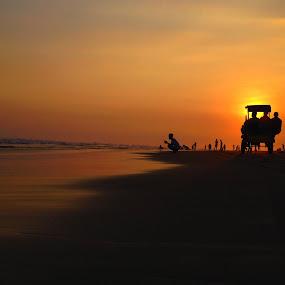 Sweet Twilight by Zen Syarif Abidin - Instagram & Mobile iPhone ( sunset, twilight, landscapes, landscape, sun )