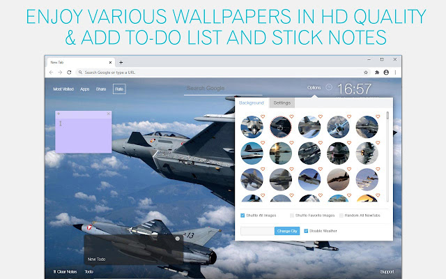 Jet Fighter Wallpaper HD Fighter Jet New Tab