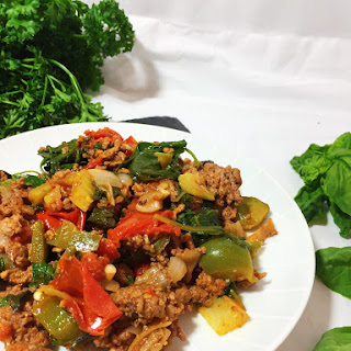 Spicy Beef and Basil Stir Fry // Paleo & Whole30 // Video Recipe Tutorial.