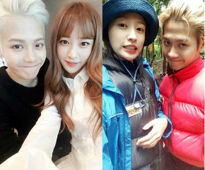 Hani playfully asks Jackson to come sleep with her on