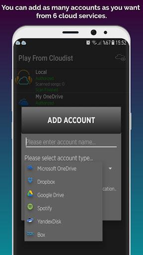 Baixar Cloudist - Free Cloud Music Player para Android no