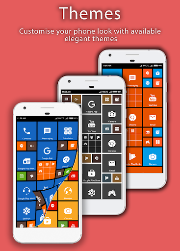 8.1 Metro Look Launcher 2018 - Theme, Smart, DIY 3.0 screenshots 3
