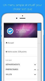 Géo Quiz France- screenshot thumbnail
