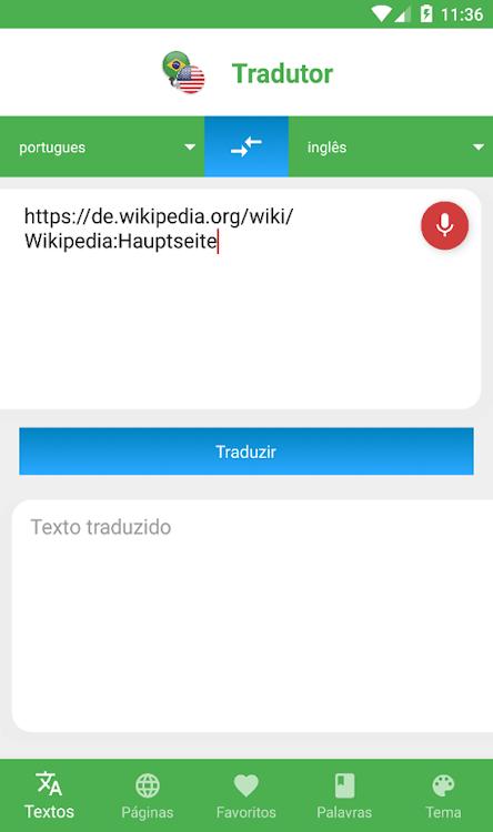 Tradutor Inglês - Português – (Android Ứng dụng) — AppAgg