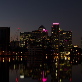 Docklands by Christine Ayre - Buildings & Architecture Office Buildings & Hotels