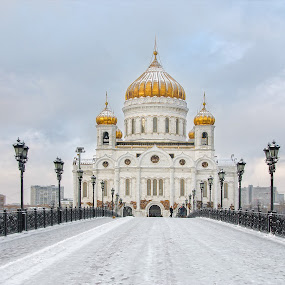 Moscow Cathedral by Nikos Pa - Buildings & Architecture Places of Worship