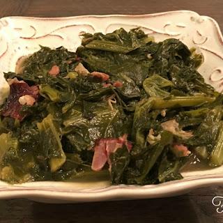 Instant Pot Turnip Greens.