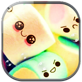 Smiley Face Marshmallow Theme