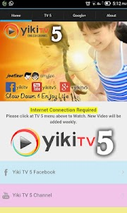 Yiki TV 5 Channel | Fun & Edu screenshot 0