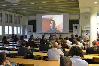 Photo: Jacek był z nami duchem w czasie konferencji.