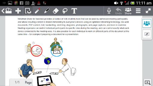 MetaMoJi Note for Business 3 3.7.7.0 screenshots 1