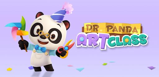 Dr. Panda Art Class app for Android screenshot