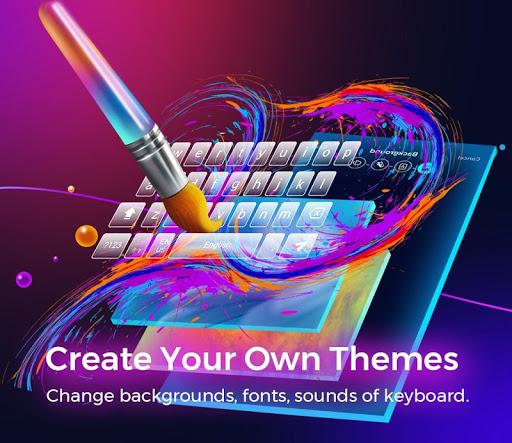 Cheetah Keyboard-Gif,Emoji Keyboard&3D Themes  screenshots 5