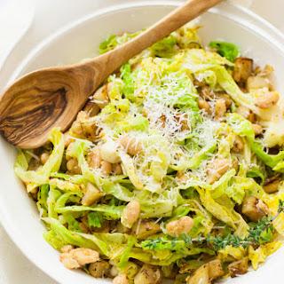 Cabbage, Potatoes & White Beans (v, gf).
