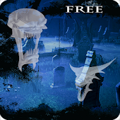 Ghost Halloween Cemetery Live Wallpaper