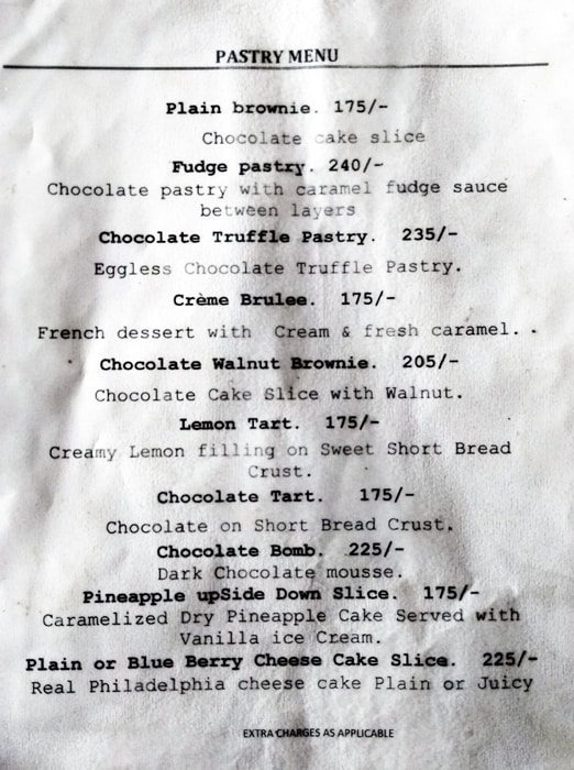 Chocolateria San Churro menu 5