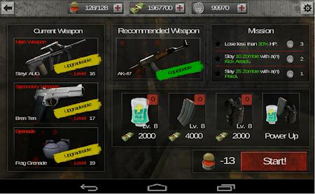 The Zombie: Gundead 1.0.12 screenshot 138118