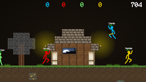 Stickman VS Multicraft: Fight Pocket Craft 1.0.2 screenshots 1