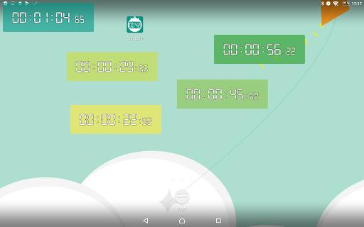 Floating Stopwatch, free multitasking timer 3.2.7 screenshots 11