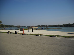 Photo: Choctaw Lake's Beach