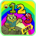 math game number addition kid icon