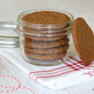 Chewy Gingersnap Cookies.