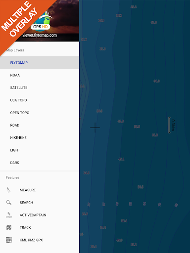 Cheesapeake Bay GPS Map Navigator app for Android screenshot
