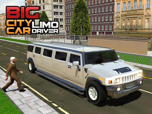 Big City Limo Car Driving Simulator apkdebit screenshots 13