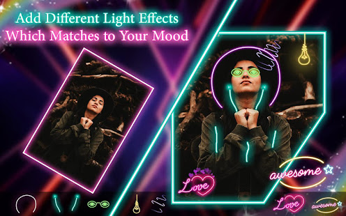 Download Neon filter photo editor - custom neon signs For PC Windows and Mac apk screenshot 2