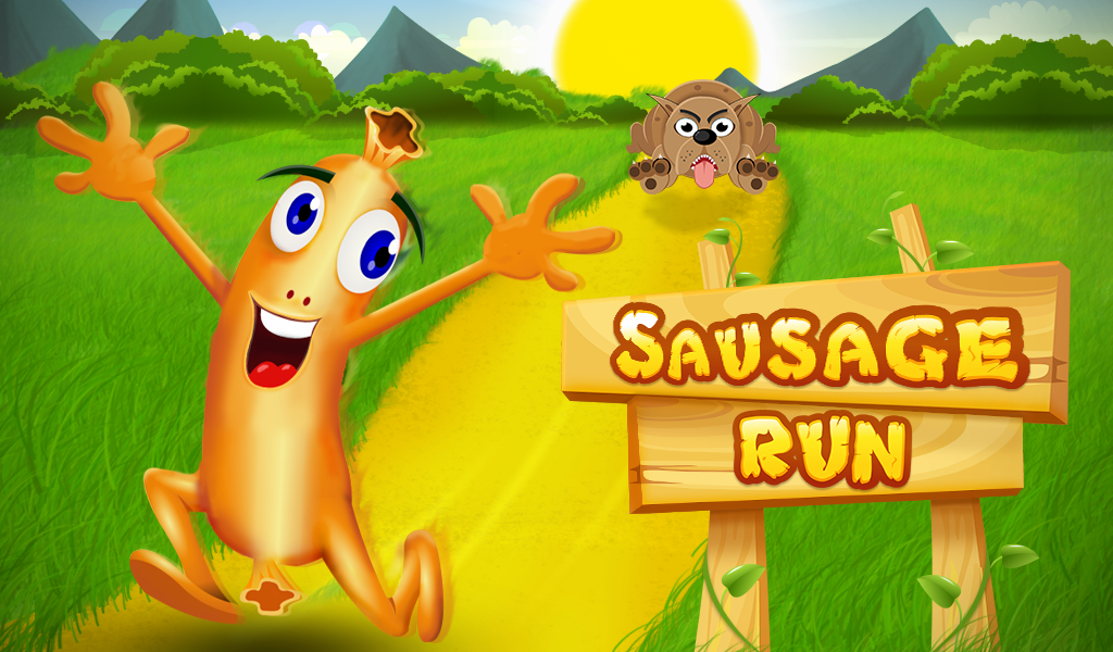 Sausage Run- screenshot