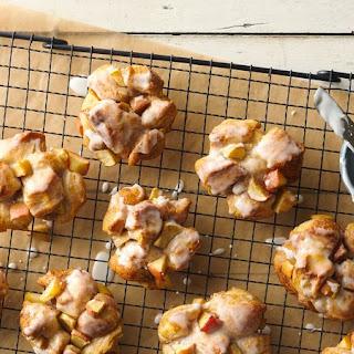 Baked Glazed Apple Fritters Recipe