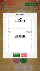 Chơi Vietlott Mega 6/45,Max 4D screenshot 1