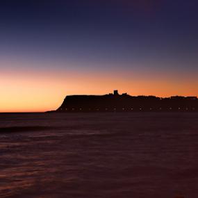 Scarborough Sunrise by Steve BB - Landscapes Sunsets & Sunrises ( sky, sunrise, seascape, castle, scarborough, yorkshire, seafront )