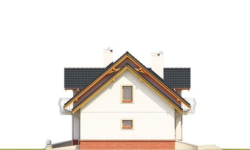 Dom Dla Ciebie 1 w4 z garażem 1-st. A - Elewacja prawa