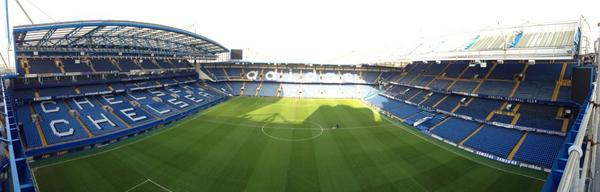 Photo: View of Stamford Bridge...
