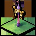 とんがり帽子の街灯(プリンセス)