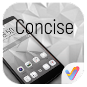 Concise V Launcher Theme